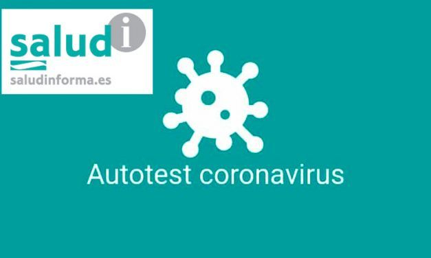 Autotest del coronavirus en la APP Salud Informa