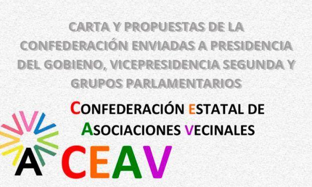 CEAV pide que se tenga en cuenta al movimiento vecinal
