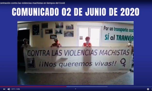 Concentración contra las violencias machistas 02-06-2020