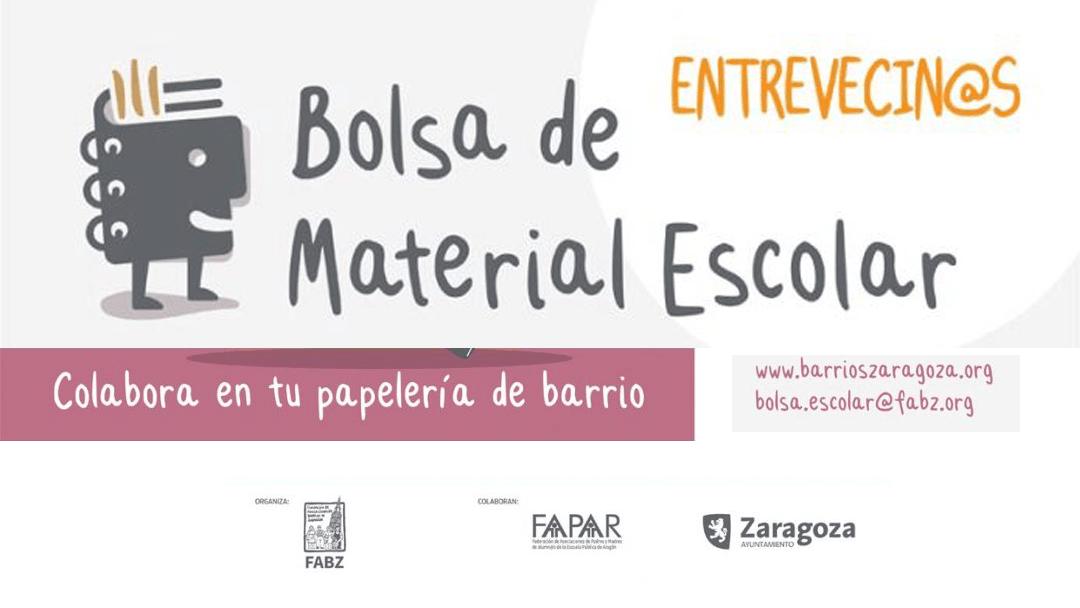 La FABZ lanza el proyecto solidario Bolsa de Material Escolar