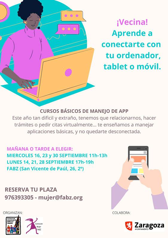 Cursos de app para mujeres FABZ