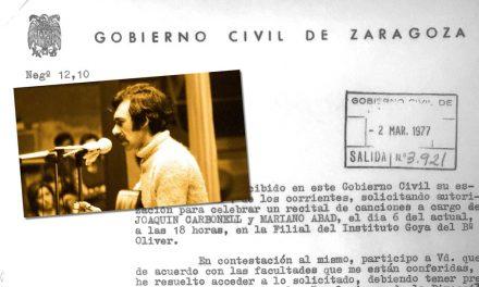 Recuerdo del paso de Joaquín Carbonell por el Barrio Oliver