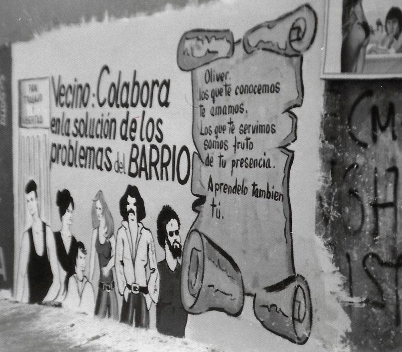 Pancarta Oliver 1970