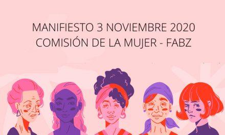 Manifiesto noviembre contra la violencia machista