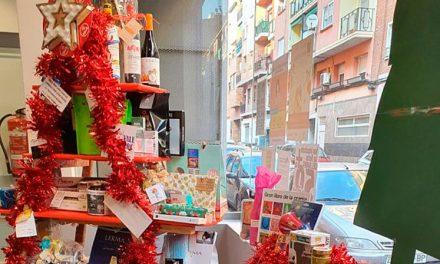 Cesta de Navidad del proyecto Bolsa de Material Escolar