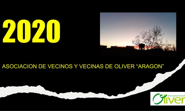 "Memoria 2020 de la AVV de Oliver ""Aragón"""
