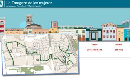 Paseos por la Zaragoza de las Mujeres en Oliver