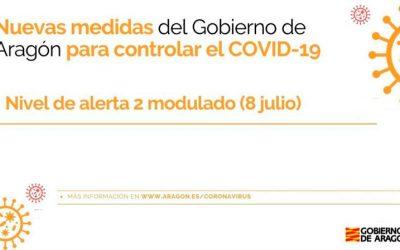 Medidas COVID 9 de julio de 2021